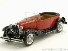 Alfa Romeo 1750 Torpedo 1930 Rosso/Nero 1:43 RIO 4199