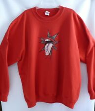 Gildan Sweatshirt Size 3X Mens Red Vintage Heavy Blend German Stilvoll Stylish
