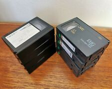 8 X Used Jvc VHS-C Video Tape Camcorder Recording Cassettes