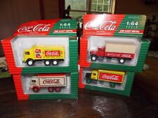 Set Coca Cola 1:64 Die -Cast Metal Vintage Trucks Collectables