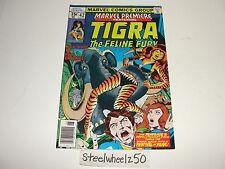 Marvel Premiere #42 Comic 1978 Tigra Feline Fury Vs Renegade Hannigan Vosburg