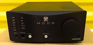 Moon 230HAD Headphone Amplifier and DAC (Ex-display). Worldwide shipping