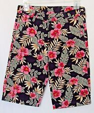 Boys Hawaiian Bermuda Shorts Levis 505 Floral Straight Leg Size 12 Regular