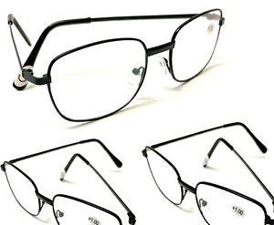 3x Klassische Lesebrillen Lesehilfe Brille Lesebrille Sehstärke Brillen Sehhilfe