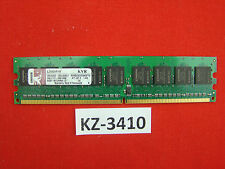 Kingston 1gb ddr2 pc2-4200 ECC 533mhz kvr533d2e4k2/1g cl4 #kz-3410