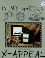 In My Garden X-Appeal Cross Stitch Pattern Leaflet NEW - 30 Days To Shop & Pay!