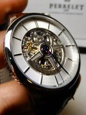 Perrelet Double Rotor Skeleton Watch Ref A1091 100% NIB $4980 List HUGE Discount