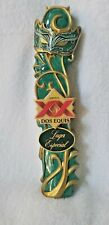 Dos Equis Lager New Rare Mask Limited Edition Large Beer Tap Handle in Box
