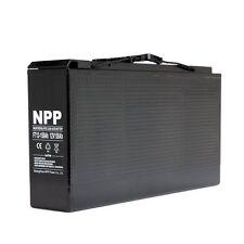 NPP FT12 12V 150Ah 155Ah 150 Amp Front Access Telecom Deep Cycle AGM SLA Battery