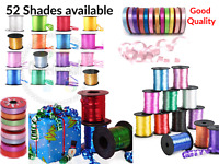 25-500M Colour Balloons Curling Ribbons Helium Wedding Craft Birthday Gift Party