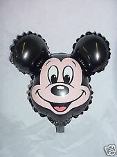 "9"" Mickey Mouse Face Character Mini Foil Balloon- M56"