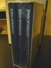 John Wyndham 3 Volume Set (The Day of the Triffids & 2 Others) Folio Society