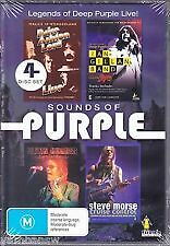 SOUNDS OF PURPLE: LEGENDS OF DEEP PURPLE LIVE - BRAND NEW & SEALED 4-DISC R4 DVD