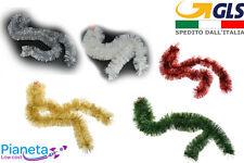 Fili decorativi per albero di natale addobbi natalizi ghirlanda festone