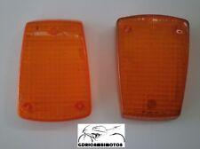 COPPIA VETRINI FRECCE POSTERIORI REAR GLASSES ARROWS HONDA CBX 400 F II 82 85