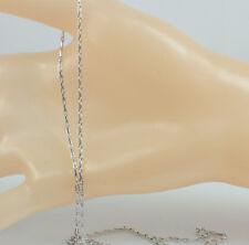 50 cm White Gold Filled Strong Cable Chain For Pendant- Silver