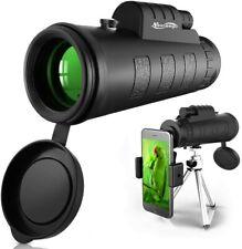 50x60 Télescope Monoculaire Zoom HD Jumelle Optique Portable Phone Clip Trépied
