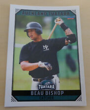 Beau Bishop 2018/19 Australian Baseball League card - Auckland Tuatara