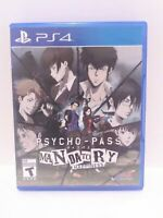 Psycho - Pass Mandatory Happiness (Playstation 4 2016) Game & Case Fast Shipping