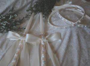 Greek Orthodox Stefana and Wedding Candles Set Lambathes Lambades