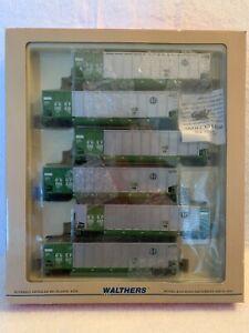 Walthers #932-5319 HO Burlington Northern Bethgone 6-Pack
