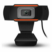 Rotatable 2.0 HD Webcam Digital USB Camera Video Recording with Microphone UK MT