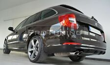 For Skoda Superb II Combi Rear Bumper Diffusor diffuser exhaust on the left side