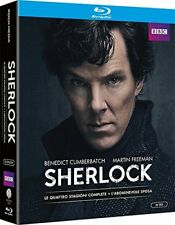 SHERLOCK - 4 STAGIONI + L'ABOMINEVOLE SPOSA (10 BLU-RAY) SERIE TV CULT