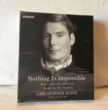 Nothing Is Impossible Christopher Reeve Unabridged 3 CD's New Sealed    #N6