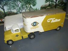 TONKA UNITED VAN LINES SEMI, 57 FULTON PRIVATE LABEL