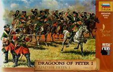 Zvezda 1/72 Dragoni di Pietro I # 8072