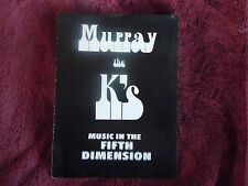 The Who Cream Eric Clapton Murray the K 1967 Legendary Easter Show Program RARE!