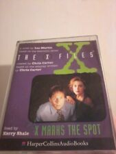 X-FILES X Marks The Spot by Les Martin 1996 2 cassette audio book POST FREE