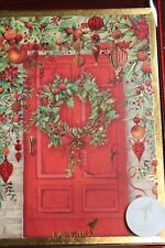 Box of 12 Brand New-Red Balls Sparkling Boxed Cards CHRISTMAS Holiday  Cards