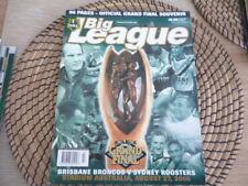 NRL Grand Final 2000 Broncos v Roosters   program