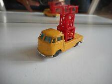 Husky VW Volkswagen Transporter T1 Pick-up + Sky lift in Yellow/Red