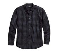 Harley-Davidson® Men's Specialty Wash Plaid Long Sleeve Shirt 96578-19VM