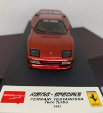 Make Up Eidolon 1:43 Ferrari Testarossa Twin Turbo 1985 OZ wheels EM100J n bbr