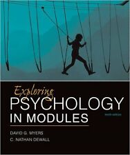 Exploring Psychology in Modules 10th Edition by David Myers *(Looseleaf edition)