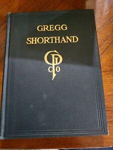 Gregg Shorthand 1916 Hardcover