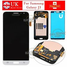 For Samsung Galaxy J3 LCD Display + Touch Screen Digitizer White 2016 SM-J320FN