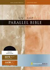 KJV/Amplified Parallel Bible, Large Print (King James Version), Zondervan