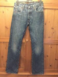 Men's Levi 501 Jeans, W30 L32, stonewash  , used