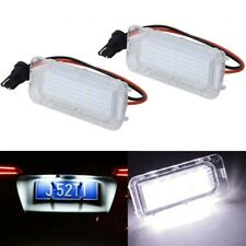 2x Ford Galaxy Fiesta Focus Kuga C-MAX S-MAX LED License Number Plate Light Lamp