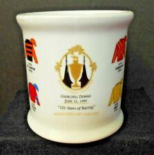 Churchill Downs June 12, 1999 Anniversary Salute Decorative Mug Pre-Owned