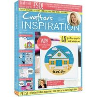CRAFTERS INSPIRATION MAGAZINE ISSUE 19 JULY 2018 - £50 FREE CRAFT KIT DIE STAMPS
