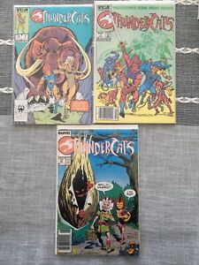 Thundercats Odd Lot Of Comics With Variants NM Star Comics 1985