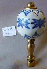 """priced per each Lamp Finial Wade Pottery Porcelain Eagle 2 3//4/"""" h x 1/"""" w #1"""
