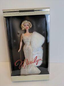 NIB Marilyn Monroe Barbie Doll Collector Edition Timeless Treasures, 2001 Mattel