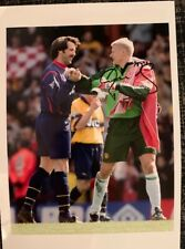 Sighed Peter Schmeichel Manchester United FC Treble 1999 Press Photograph